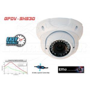 Wide angle dome camera 700 tvl sony effio-e – Guardaplex Security